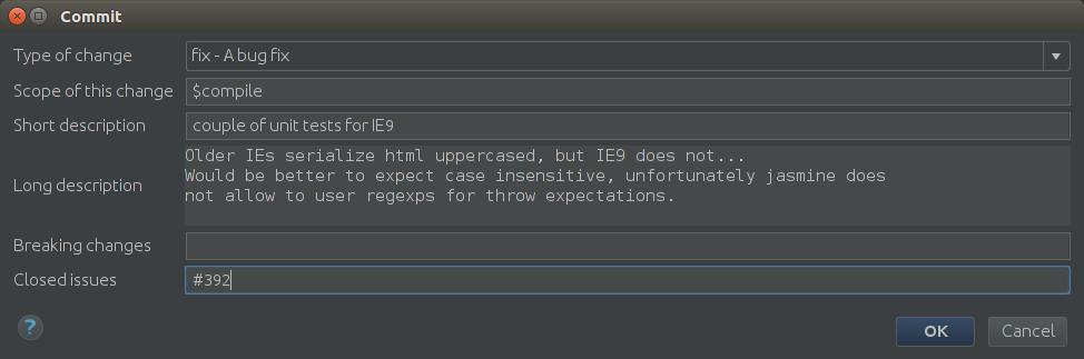 Git提交信息插件